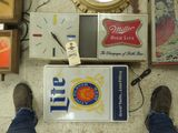 Miller Beer Signs Plastic
