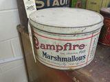 Campfire marshmallow Tin