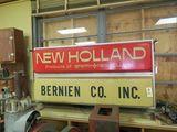 New Holland Dealership Sign