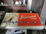 Super Sweet Feeds Clock Plastic