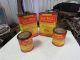 Riley Brothers 2 quart Oil Cans