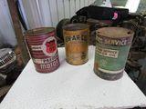 EN-AR-CO, Phillips 66, & Cities Service Oil Cans