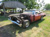 1967 Chevrolet Impala Convertible Project