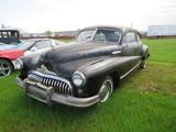 1947 Buick Slant back Coupe