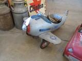Vintage Pedal Airplane