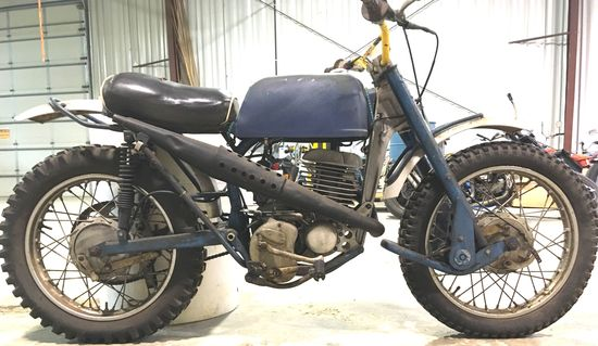 1962 Greeves Challenger 250