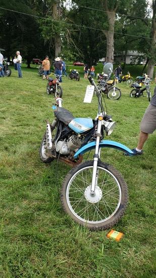 1971 Suzuki TS125 motorcycle