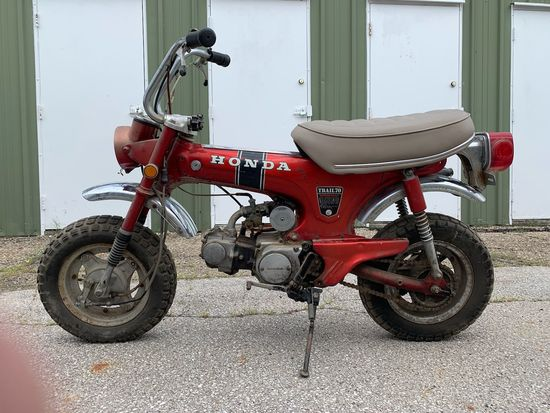 1970 Honda CT70 Motorcycle