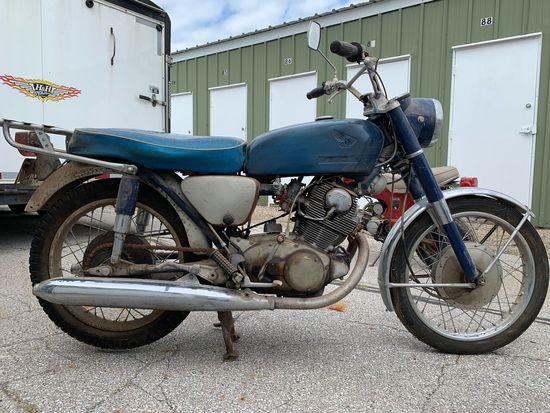 1968 Honda CB77 305cc Motorcycle