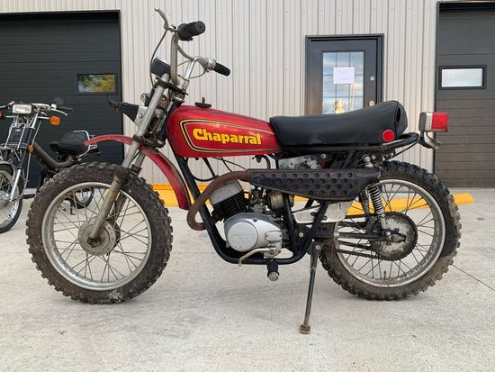1974 Chaparral ST80 Motorcycle