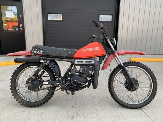 1978 Suzuki DS100 Motorcycle