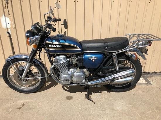 1975 Honda CB750 Motorcycle