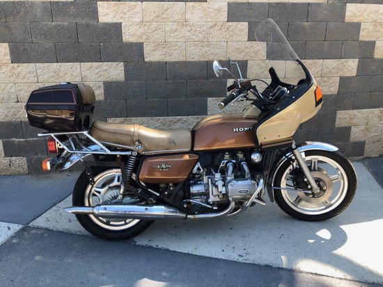 1980 Honda GL1000 Goldwing motorcycle