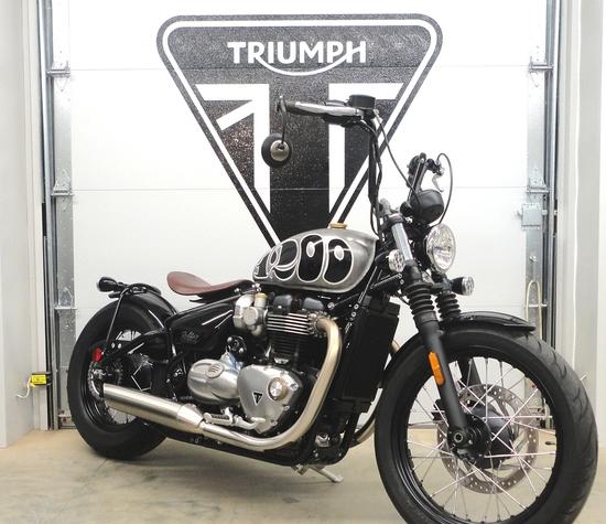 2018 Triumph Bobber 1200 motorcycle