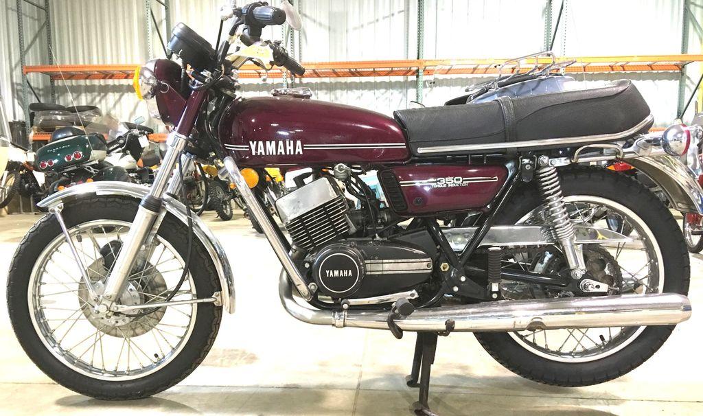 1974 Yamaha RD350