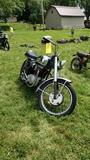 1965 BSA A65 Lightning 650 motorcycle
