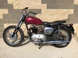 1955 Triumph T110 motorcycle