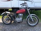 1977 Yamaha XS650 motorcycle