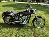 2004 Harley-Davidson Softwail Deuce motorcycle