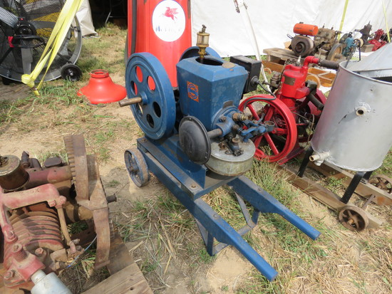 "Stover 1 1/2hp ""The Good Engine"" stationary gas engine"