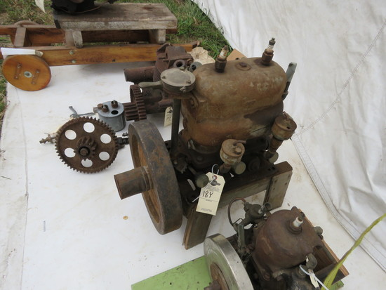 Lockwood Ash Motor with Schebler Carb