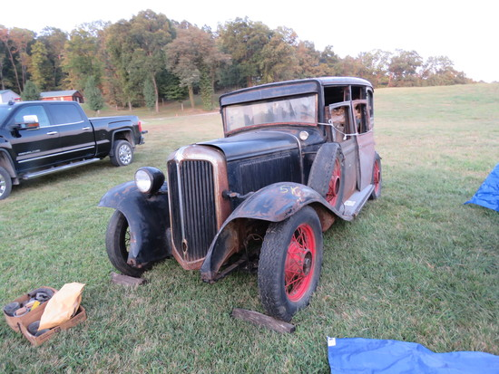 1931 Chrysler CM6 4dr Sedan Project