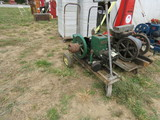 Domestic Side Shaft 1 1/2HP Stationary Gas Engine on Cart