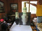 Vintage Bosch Spark Plug Advertising Display