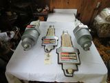 Vintage Champion Spark Plugs Advertising Grouping