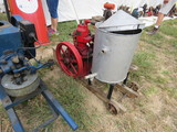 Detroit Engine on Cart 1559