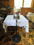 Rare Factory Ford Gumball Machine with Ford papers and Gumballs-Glass