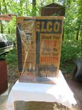 DELCO Batteries Advertising Poster 25x37 inches