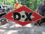 DX Double Sided Porcelain Sign 9x5 ft
