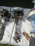 Vintage 1938  Water Witch Model MB 2.54hp Boat Motor