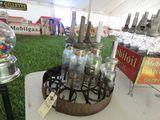 Circular Iso-Vis Oil Bottle Display
