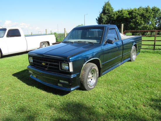 1982 Chevrolet S-10 Custom Pickup