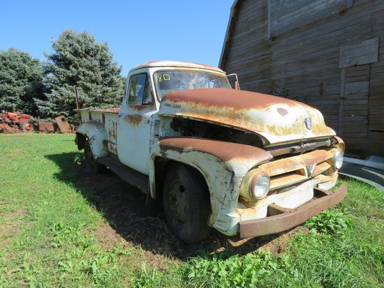 1955 Ford F350 1 ton Pickup for Rod or Restore
