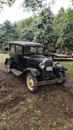 1930 Ford Model A 2dr Sedan