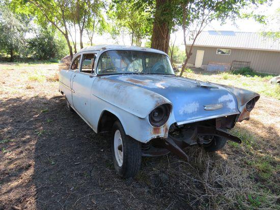 1955 Chevrolet 2dr Sedan for Restore or Rod