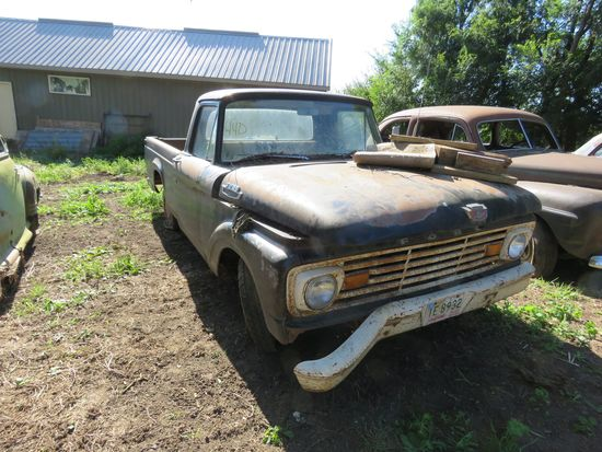 1963 Ford F100 Pickup for Project or Parts