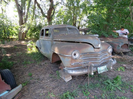 1947 Plymouth 4dr Sedan for Project or Parts