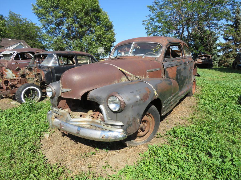1947 Chevrolet Fleet master 2dr Sedan for Project or Parts