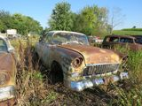 1955 Chevrolet 4dr Sedan Body for Rod project or parts
