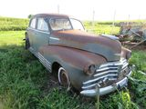 1946 Chevrolet Fleet master 2dr Sedan for Project or Parts