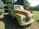 1950 Chevrolet 3100 Series Pickup for Rod or Restore
