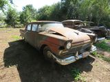 1957 Ford Custom 4dr Sedan for Project or Parts