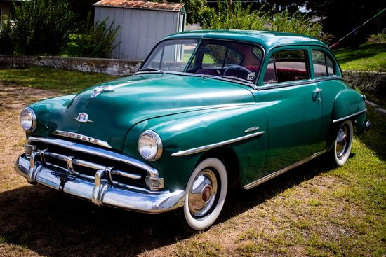 1951 Plymouth Concord P22 2dr Sedan