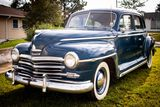 1947 Plymouth Special Deluxe  P15 4dr Sedan