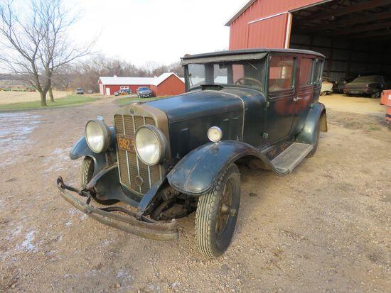 1929 Franklin 4dr Sedan