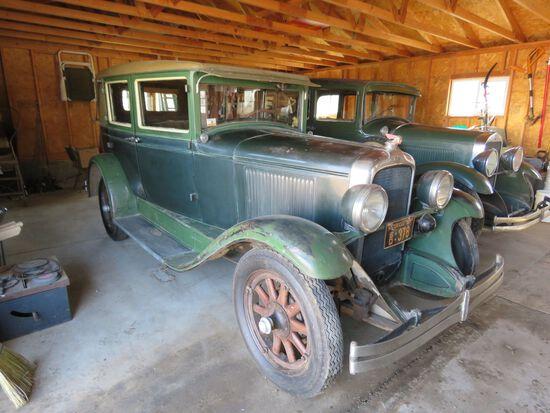 1928 Pontiac Chief 4dr Sedan